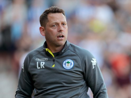 Leam Richardson has told his Wigan players they are not safe yet (Richard Sellers/PA)