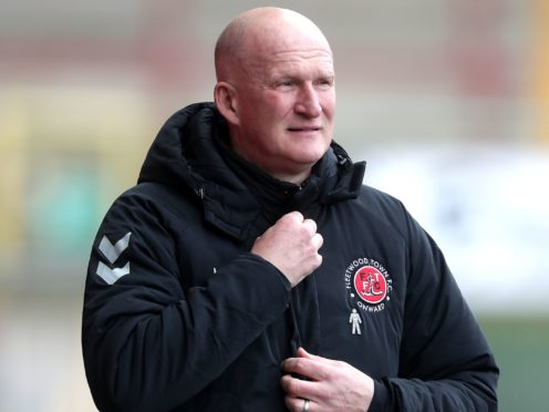 Fleetwood boss Simon Grayson is preparing for the visit of Crewe (Richard Sellers/PA)