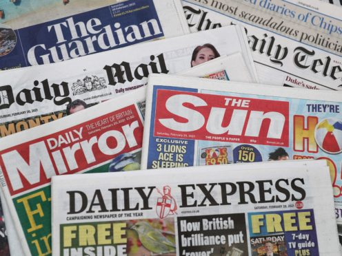 What the papers say – April 14 (PA)