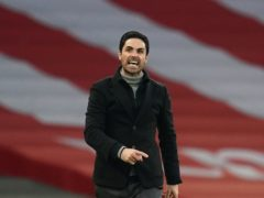 Arsenal manager Mikel Arteta still believes his side can make the Europa League semi-finals (John Walton/PA)