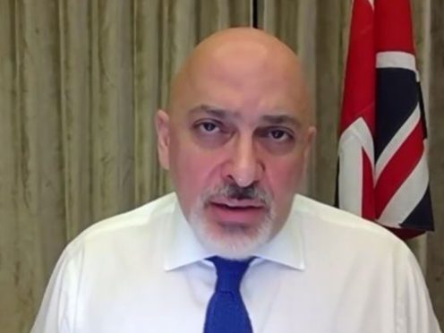Relying on trusted voices to deliver vaccine information has dramatically cut hesitancy in black communities, Nadhim Zahawi said (House of Commons/PA)