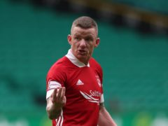 Jonny Hayes made the difference for Aberdeen (Andrew Milligan/PA)