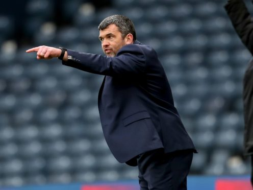St Johnstone will drive on to the end of the season, says boss Callum Davidson (Andrew Milligan/PA)