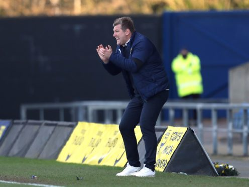 Oxford manager Karl Robinson singled out Sam Long's desire after their comeback win against Gillingham (Steven Paston/PA)