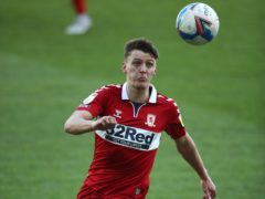 Middlesbrough's Dael Fry is sidelined with a calf issue (Nick Potts/PA)