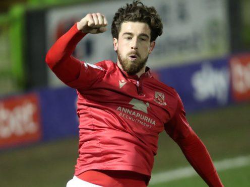 Cole Stockton helped Morecambe beat Grimsby (David Davies/PA)
