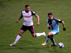 Bolton Wanderers' Antoni Sarcevic (left) remains sidelined with a hamstring injury (Simon Marper/PA)