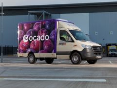 Ocado is to invest £10m in driverless vehicle start-up Oxbotica and look at the potential for automated deliveries to customers (Ocadi/PA)