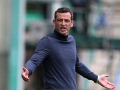 Hibernian manager Jack Ross looking for Ibrox win (Andrew Milligan/PA)