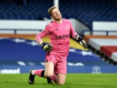 Everton goalkeeper Jordan Pickford has not recovered from an abdominal injury (Peter Powell/PA)