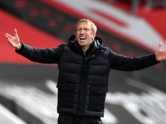 Graham Potter's Brighton have regularly dropped points from winning positions (Glyn Kirk/PA)