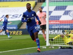 Leicester's Kelechi Iheanacho is ready to face Southampton on Sunday. (Molly Darlington/PA)