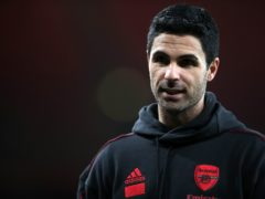 Mikel Arteta hopes the owners' statement will put an end to speculation (Nick Potts/PA)