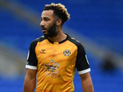 Nicky Maynard is set to return for Newport against Carlisle (Simon Galloway/PA)