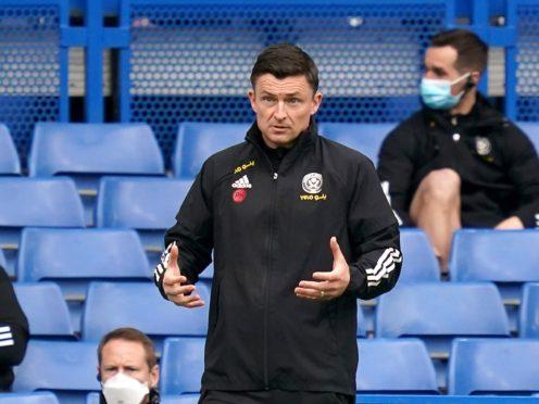 Interim boss Paul Heckingbottom might change the way Sheffield United line up at Wolves on Saturday (John Walton/PA)