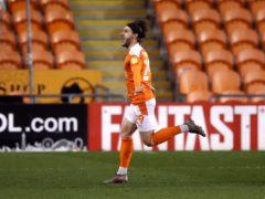 Luke Garbutt scored the only goal (Martin Rickett/PA)