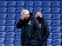 Newcastle head coach Steve Bruce will rely on experience as he attempts to launch a Premier League fightback (John Walton/PA)