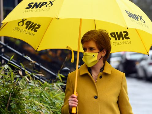 The poll predicts the SNP could lose its majority (Andy Buchanan/PA)
