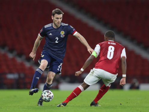 Scotland's Stephen O'Donnell signed a two-year deal with Motherwell (Jane Barlow/PA)