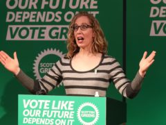 Greens co-leader Lorna Slater will announce the party's drugs policies on Saturday (Andrew Milligan/PA)