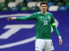 Kyle Lafferty was on target again (Liam McBurney/PA)