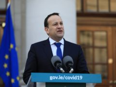 Ireland's Tanaiste Leo Varadkar has cast doubt on Dublin's hosting of Euro 2020 matches this summer (Julien Behal/PA)