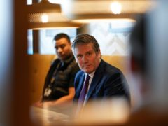 Labour Party leader Sir Keir Starmer said he was not aware of the church's views on homosexuality (Ian Forsyth/PA)