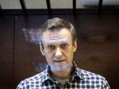 Russian opposition leader Alexei Navalny has a back injury (Alexander Zemlianichenko/AP)