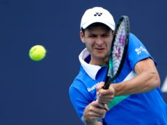Hubert Hurkacz is the first Pole to win an ATP Masters singles title (Lynne Sladky/AP)