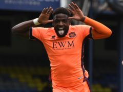 Offrande Zanzala is battling to be fit for Carlisle (Kirsty O'Connor/PA)