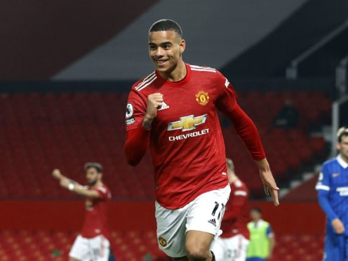 Mason Greenwood has scored in consecutive games for the first time this season (Phil Noble/PA)