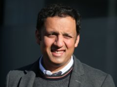 Scottish Labour leader Anas Sarwar before his haircut on Monday (Andrew Milligan/PA)
