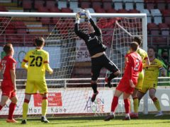 Walsall goalkeeper Jack Rose kept a clean sheet on his return to the team against Leyton Orient (Yui Mok/PA)