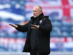 Ross County need wins says manager John Hughes (Jane Barlow/PA)
