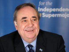 Alba Party leader Alex Salmond (Andrew Milligan/PA)'