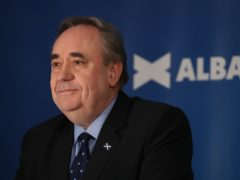 Alex Salmond has said the First Minister's comments on the timing of a referendum have caused 'consternation' (Andrew Milligan/PA)