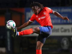 Peter Kioso scored twice (Catherine Ivill/PA)