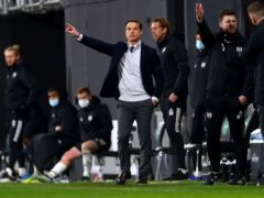 Scott Parker insisted Fulham will come out fighting as they battle to stay in the Premier League after a 1-0 defeat to Wolves (Clive Rose/PA)