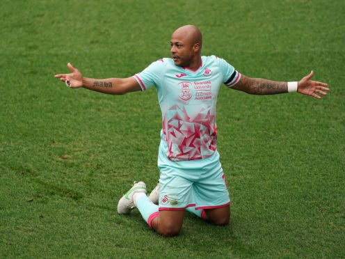 Swansea's Andre Ayew could be set for a spell on the sidelines (John Walton/PA)