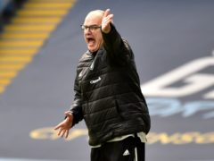 Marcelo Bielsa says Leeds cannot yet compete with the top six (Rui Vieira/PA)