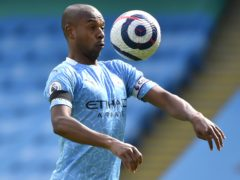Manchester City's Fernandinho has welcomed the demise of the European Super League (Rui Vieira/PA)
