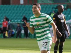 Celtic's Mohamed Elyounoussi hit two in a 6-0 win over Livingston (JeffHolmes/PA)