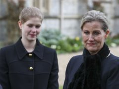 The Countess of Wessex and her daughter Lady Louise Windsor (Steve Parsons/PA)