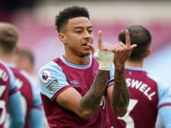 Jesse Lingard scored twice as West Ham held on to beat Leicester (John Walton/PA)
