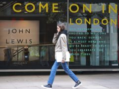 John Lewis appeared to mock Boris Johnson by suggesting it had something for 'almost' everyone (Yui Mok/PA)
