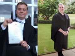 Terror attack victims Jack Merritt, 25, and Saskia Jones, 23 (Metropolitan Police/PA)