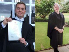 London Bridge terror attack victims Jack Merritt, 25, and Saskia Jones, 23 (Met Police/PA)