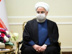 Iranian president Hassan Rouhani (Russian Foreign Ministry Press Service/AP)