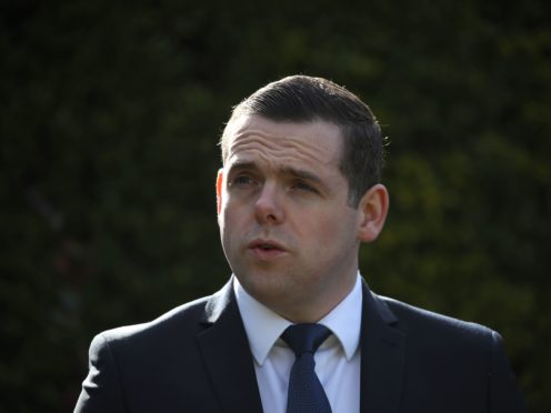 Douglas Ross is due to visit a farm in Inverurie (Andrew Milligan/PA)