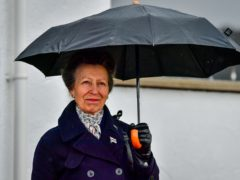 The Princess Royal at the Royal Victoria Yacht Club (Ben Birchall/PA)